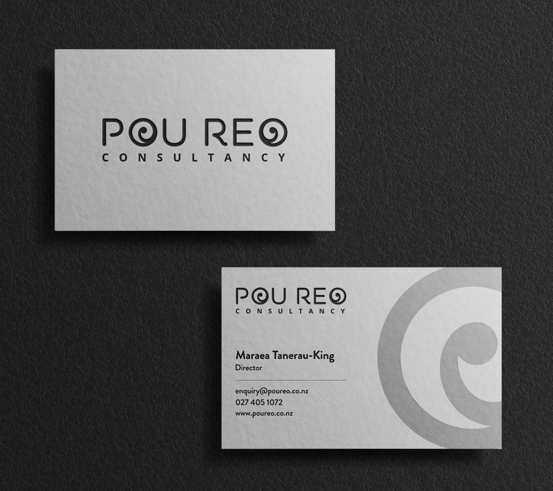 Pou Reo Consultancy - Business Cards